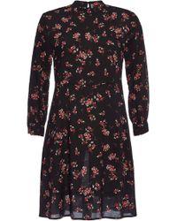 Velvet - Juliet Printed Dress - Lyst