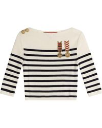 Tommy Hilfiger - Cropped Wool Pullover - Lyst