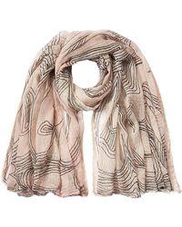 Faliero Sarti | Printed Cotton Scarf With Silk | Lyst