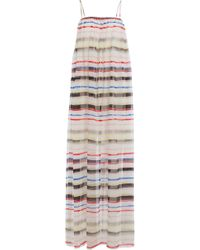 Marysia Swim - Cotton Maxi Dress With Silk - Lyst