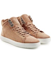 Rag & Bone | Kent High-top Suede Trainers | Lyst