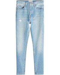 FRAME - Rigid Re-release Le Original Skinny Jeans - Lyst