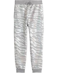 KENZO - Printed Cotton Joggers - Lyst