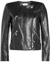 Étoile Isabel Marant - Grinly Leather Jacket - Lyst