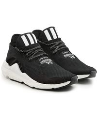Y-3   Saikou Sneakers With Suede And Mesh   Lyst