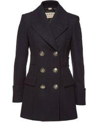 Burberry - Tredegar Wool Coat - Lyst