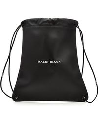 Balenciaga   Leather School Backpack   Lyst