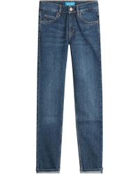 MiH Jeans   Cropped Slim Jeans   Lyst