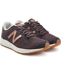 New Balance - Trainers With Suede - Lyst