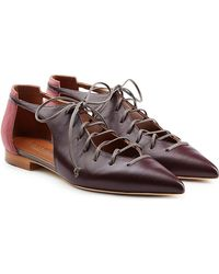 Malone Souliers - Montana Leather Ballerinas - Lyst