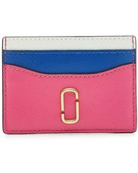 Marc Jacobs - Snapshot Leather Card Holder - Lyst