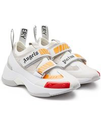 Palm Angels - Recovery Suede, Neoprene And Rubber Sneakers - Lyst