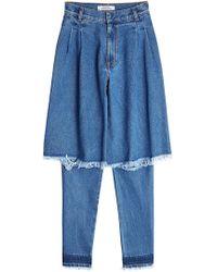 Ksenia Schnaider   Distressed Jeans   Lyst
