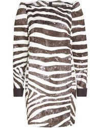 Marc Jacobs - Printed Dress - Lyst