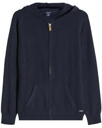Woolrich - Zipped Cashmere Hoodie - Lyst