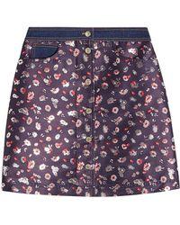 Tommy Hilfiger - Jacquard Mini Skirt - Lyst