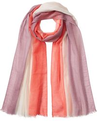 Agnona - Cashmere And Cotton Scarf - Lyst