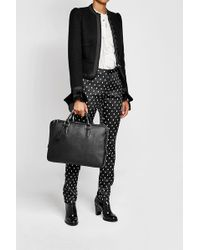Smythson - Leather Briefcase - Lyst