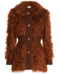 Isa Arfen - Faux Fur Jacket - Lyst