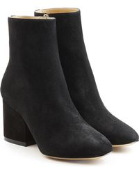 Ferragamo | Suede Ankle Boots | Lyst