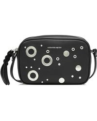 Alexander McQueen | Small Embellished Leather Camera Bag | Lyst
