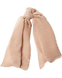 Agnona - Scarf With Cashmere And Silk - Lyst