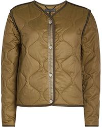 Rag & Bone - Quilted Jacket With Cotton - Lyst