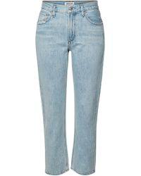 Agolde - Straight Leg Jeans Cigarette Low Slung - Lyst
