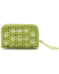 Shrimps - Domenica Faux-pearl Embellished Clutch - Lyst