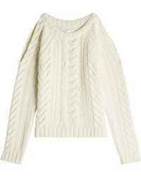 Anine Bing - Pullover With Cut-out Shoulders - Lyst