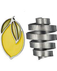 Jacquemus - Le Citron Earrings - Lyst