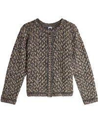 M Missoni - Pullover With Metallic Thread - Lyst