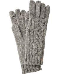 Polo Ralph Lauren - Aran-knit Gloves - Lyst