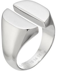 Maison Margiela - Sterling Silver Ring - Lyst