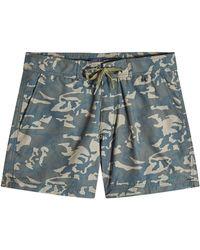 Woolrich - Printed Swim Shorts - Lyst