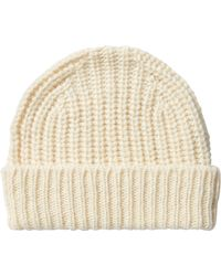 Closed - Hat With Alpaca And Wool - White - Lyst