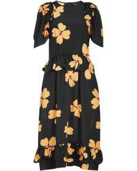Simone Rocha - Printed Silk Dress - Lyst