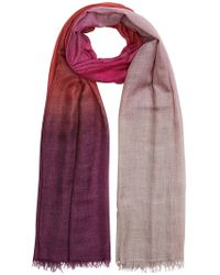 Faliero Sarti - Dya Scarf With Cashmere And Silk - Lyst