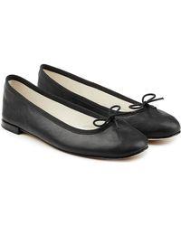 Repetto - Cendrillon Patent Leather Ballerinas - Lyst