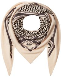 Lala Berlin - Printed Cashmere Scarf - Lyst