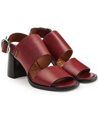 JOSEPH - Stein Leather Sandals - Lyst
