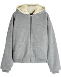 Fear Of God - Hoodie With Wool And Alpaca-blend Lining - Lyst