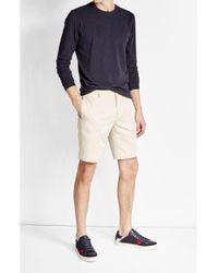 CALVIN KLEIN 205W39NYC - Cotton-linen Shorts - Lyst