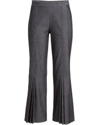 Marco De Vincenzo - Pleated Pants With Cotton - Lyst