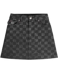 fb8cf559b1c Lyst - Marc Jacobs Mickey Mouse Denim Skirt - Save 55.99284436493739%