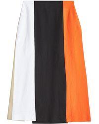 Rosetta Getty - Split Panel Skirt - Lyst
