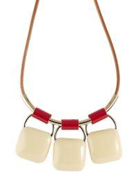 Marni - Triple Pendant Necklace - Lyst