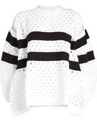 Sonia Rykiel - Pullover With Cut-out Detail - Lyst