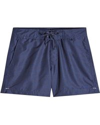 Woolrich - Printed Shorts - Lyst