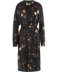 Isabel Marant - Printed Silk Dress - Lyst